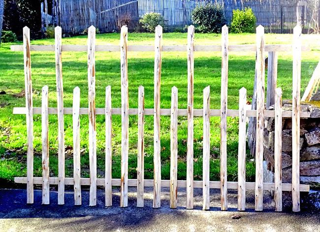 Barrière Alternée 2 - Idées Bois et Jardins