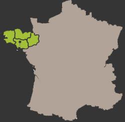 Nos zones d'intervention en France