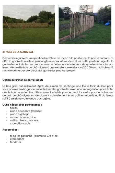 Fiche technique 1 : Guide de pose d'une clôture ganivelle 2