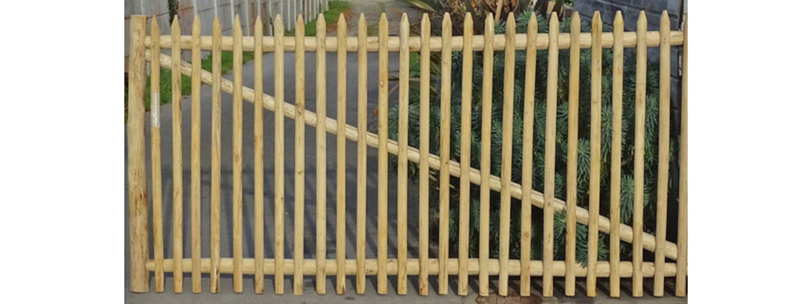 Nos fabrications : Portillons en bois