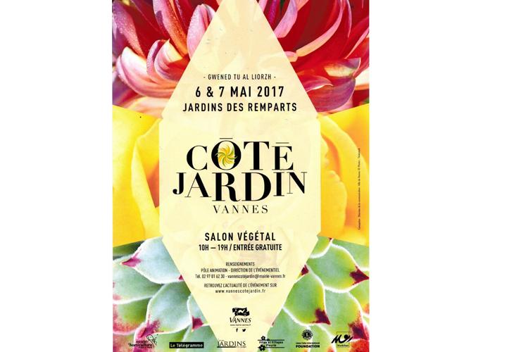Participation d'Idées Bois et Jardins au salon Végétal de Vannes les 6 et 7 Mai 2017